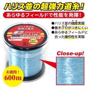 ナイロンライン GRADE 2号 0.235mm 600m巻 超強力道糸 釣り具 フィッシング aquabeach2 02