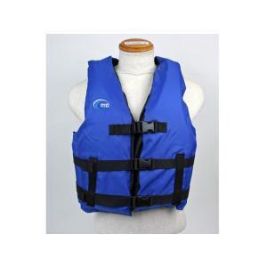 カヌー・カヤック用ライフジャケット リバリースポーツ MTI-701B ブルー MTI|aquabeach2