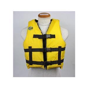 カヌー・カヤック用ライフジャケット リバリースポーツ MTI-701B イエロー MTI|aquabeach2