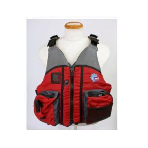 カヌー・カヤック用ライフジャケット ドラド MTI-806B レッド MTI|aquabeach2