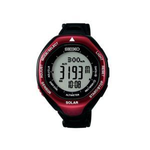 SEIKO プロスペックス アルピニスト SBEB003 レッド エクステンションバンド付 ソーラー 腕時計|aquabeach2