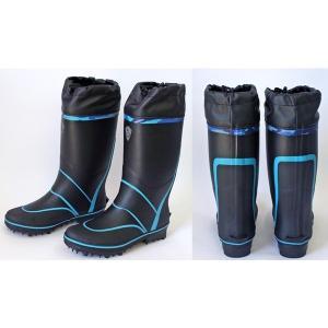 スパイクブーツ SP-1094 ブラック ファインジャパン フィッシングブーツ 釣り具|aquabeach2|02