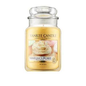 ヤンキー キャンドル バニラ カップケーキ ジャーL ハウスウォーマー YANKEE CANDLE VANILLA CUPCAKE HOUSEWARMER|aquabouquet