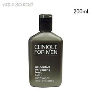 クリニーク オイル コントロール エクスフォリエーティング トニック 200ml CLINIQUE LOTION EXFOLIANTE ANTI-BRILLANCE CLINIQUE FOR MEN|aquabouquet