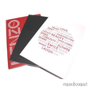ケンゾー 3 ノートブック セット [ノベルティ] KENZO 3 NOTE BOOKS SET|aquabouquet