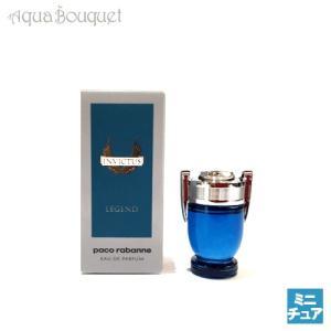 パコラバンヌ インビクタス レジェンド オードパルファム 5ml PACO RABANNE INVICTUS LEGEND EDP [7651]|aquabouquet