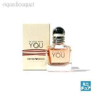 エンポリオ アルマーニ イン ラブ ウイズ ユー オードパルファム 7ml EMPORIO ARMANI IN LOVE WITH YOU EDP|aquabouquet