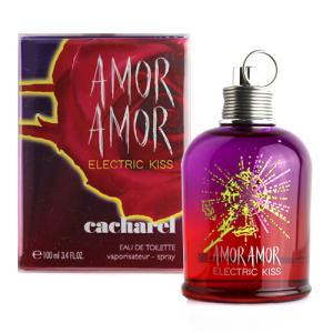 キャシャレル アモール アモール エレクトリック キス オードトワレ 100ml CACHAREL AMOR AMOR ELECTRIC KISS EDT [0210]|aquabouquet