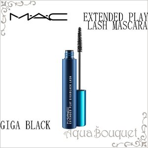 マック エクステンディッド プレイ ラッシュ ギガブラック 5.7g M.A.C EXTENDED PLAY LASH MASCARA GIGA BLACK aquabouquet