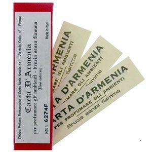 【お取り寄せ注文】サンタ マリア ノヴェッラ アルメニアペーパー 18枚入り Santa Maria Novella Armenia Papers [10262]|aquabouquet