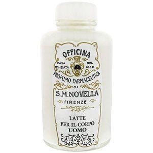サンタ マリア ノヴェッラ ボディミルク(男性用 メンズ)250ml Santa Maria Novella BODY MILK FOR MEN [12601](箱不良)|aquabouquet