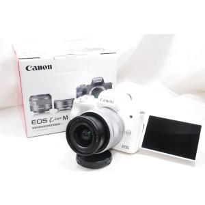 【商品の詳細】 ・カメラボディ (ホワイト)  ・ボディキャップ  ・EF-M 15-45mm ST...
