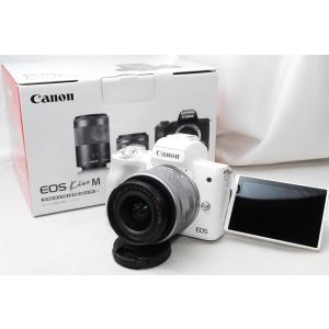 【訳あり展示品・保証】キャノン Canon EOS kiss M EF-M15-45 IS STM ...