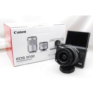 【送料無料】キャノン Canon EOS M100 EF-M15-45 IS STM レンズキット ...