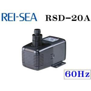 レイシー【RSD-20A 60Hz】水陸両用ポンプ 流量毎分20L 管理80|aquacraft