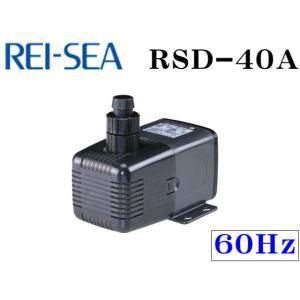 レイシー【RSD-40A 60Hz】水陸両用ポンプ 流量毎分40L 管理80|aquacraft