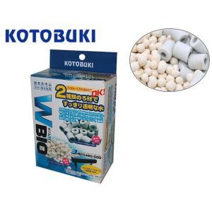 コトブキ【ダブルバイオ 300g】2種類のろ材入り 管理60 aquacraft