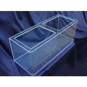 【家財便C】アクリル水槽前曲げ1200x450x450水槽/板厚6mm 国産キャスト板アクリル板仕様 受注製作品|aquacraft