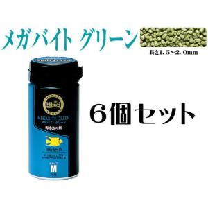 キョーリン【メガバイトグリーンM 50gx6個】 管理60 |aquacraft