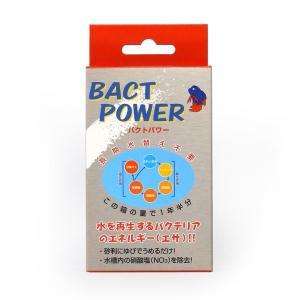 野辺商会【バクトパワー160L用】淡水海水バクテリア 管理60|aquacraft