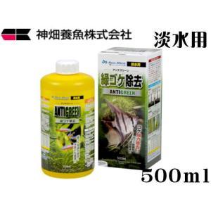 カミハタ【アンチグリーン 500mL】 管理60|aquacraft