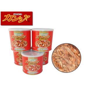 富城物産【天然手長エビ カンシャ80gx5缶】缶入り 管理60|aquacraft