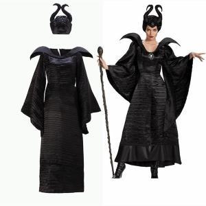 ハロウィン コスプレ 眠れる森の美女 マレフィセント コスプレ ヴィランズ Maleficent ハロウィン コスプレ 魔女 仮装 悪魔 海賊 cosplay仮装 学園 舞台服