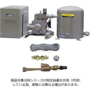 イワヤポンプ JQT-601-50 深井戸用ポンプ 50Hz用 3相200V 出力600W + 砲金ジェット 祝日 約35L 特価 40-TJ 吸上高さ35m用 圧力タンク 4J35B6