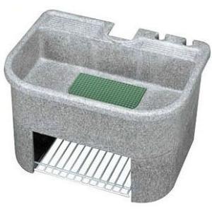 タキロン 600-H型 庭園 研ぎ出し流し (レジンコンクリート製)