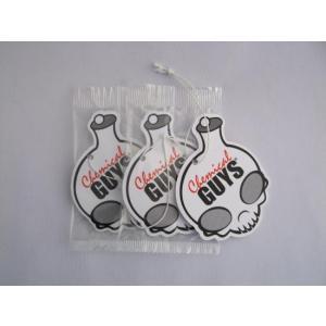 ケミカルガイズ(スマートワックス)CHEMICALGUYS stripper エアフレッシュナーボード3個 SET|aquagarage