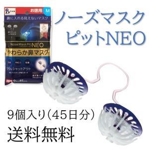 ノーズマスクピット ネオ 柔らか鼻マスク Mサイズ 日本製 NEO 洗える  高機能フィルター