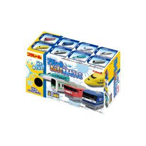 プラレール おふろで水あそびっこ フルコンプ 8個入 食玩・ガム(プラレール)|aquamint
