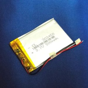 リポバッテリー リチウムポリマー電池 LiPo 3.7V 500mAh 303450