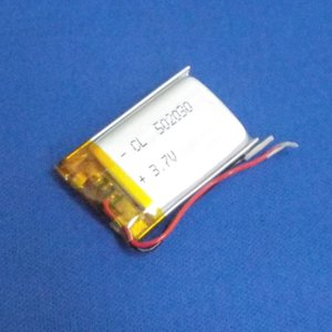 リポバッテリー リチウムポリマー電池 LiPo 3.7V 340mAh 502030|aquamix
