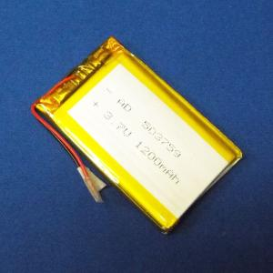 リポバッテリー リチウムポリマー電池 LiPo 3.7V 1200mAh 503759|aquamix