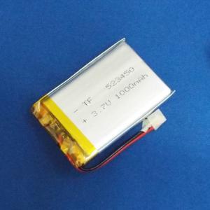 リポバッテリー リチウムポリマー電池 LiPo 3.7V 1000mAh 523450|aquamix