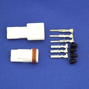 住鉱テック 5.8mmピッチ中継用防水コネクタ セット|aquamix