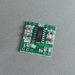 PAM8403 D級ステレオアンプモジュール|aquamix