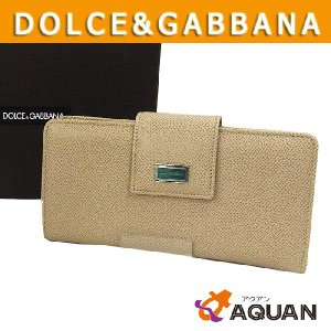 DOLCE&GABBANNA D&G ドルガバ 長財布 サイフ 未使用 美品 箱有り|aquankyoya