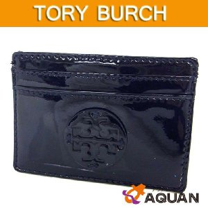 TORY BURCH トリーバーチ カードケース 名刺入れ ネイビー 紺色|aquankyoya