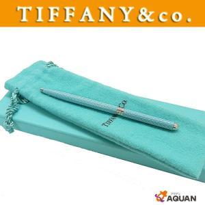 TIFFANY&CO. ティファニー T&CO. ボールペン ペン 文具 ティファニーブルー 水色|aquankyoya
