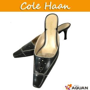 COLE HAAN コールハーン cole haan ミュール 靴 ブラック レディース サイズ6B|aquankyoya