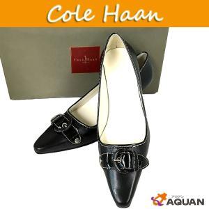 COLE HAAN コールハーン cole haan パンプス ミュール 靴 ブラック レディース サイズ6B|aquankyoya