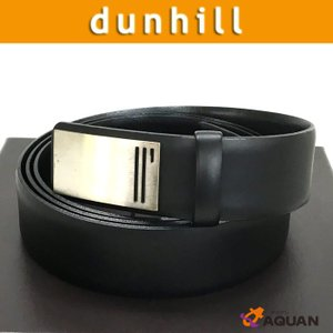 dunhill ダンヒル ベルト メンズ 男性用 レザー ブラック 未使用|aquankyoya