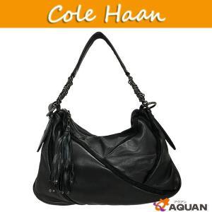 セール!COLE HAAN コールハーン cole haan MARIA SHARAPOVA マリアシャラポア ショルダーバッグ レザー ブラック 黒 |aquankyoya