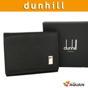 dunhill ダンヒル 小銭入れ コインケース SIDECAR コインパース メンズ レザー ダークブラウン 未使用|aquankyoya