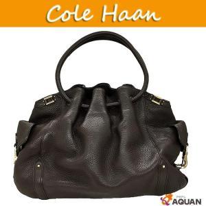 大特価セール! COLE HAAN コールハーン cole haan ショルダーバッグ レザー ブラウン|aquankyoya