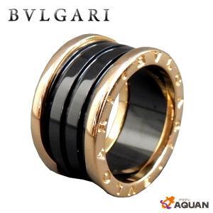 the latest faa67 90660 BVLGARI ブルガリ B-zero1 ビーゼロワン リング 指輪 K18 PG セラミック 黒 ピンクゴールド×ブラック ジュエリー アクセサリー  送料込み