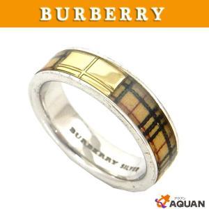 BURBERRY バーバリー リング 指輪 シルバー バーバリーチェック アクセサリー|aquankyoya