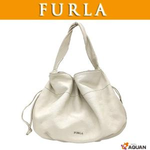 FURLA フルラ ショルダーバッグ ワンショルダー レザー アイボリー|aquankyoya